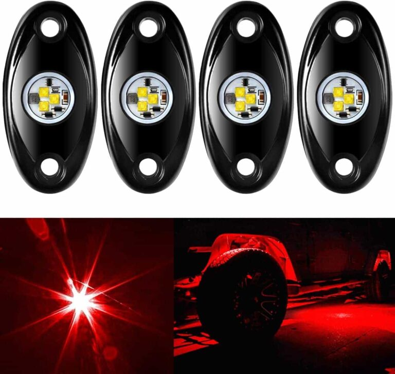 Amak LED Rock Lights for Truck Boat Underbody Glow Rtail Rig Lamp